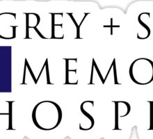 Grey + Sloan Memorial Hospital (Alt) – Grey's Anatomy, McDreamy Sticker