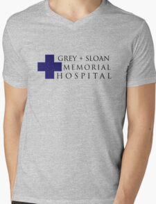 Grey + Sloan Memorial Hospital (Alt) – Grey's Anatomy, McDreamy Mens V-Neck T-Shirt