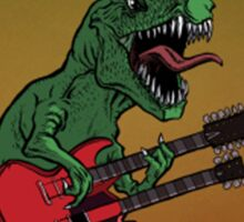 Rocker Dinosaur Sticker