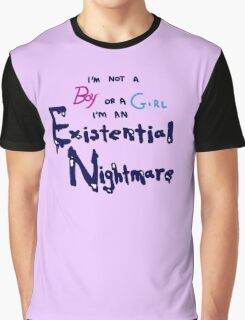 Existential Nightmare Graphic T-Shirt
