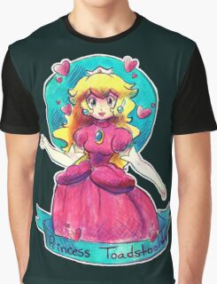 Princess Toadstool Graphic T-Shirt