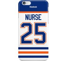 Edmonton Oilers Darnell Nurse Away Jersey Back Phone Case iPhone Case/Skin