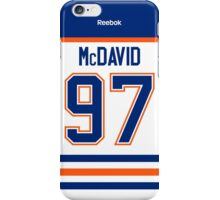 Edmonton Oilers Connor McDavid Away Jersey Back Phone Case iPhone Case/Skin