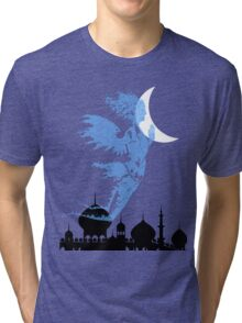 Arabian Nights Desert Wind Djinn Tri-blend T-Shirt
