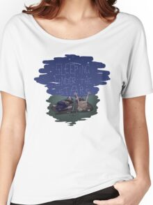 Xena and Gabrielle Under the Stars Women's Relaxed Fit T-Shirt