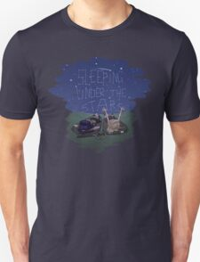 Xena and Gabrielle Under the Stars Unisex T-Shirt
