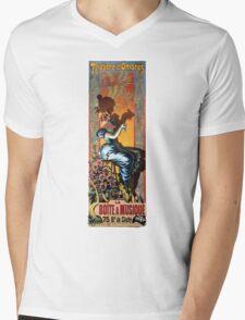 THE PARIS SHADOW THEATER 1895 Mens V-Neck T-Shirt