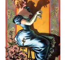 THE PARIS SHADOW THEATER 1895 Sticker