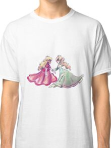 Peach and Rosalina Classic T-Shirt