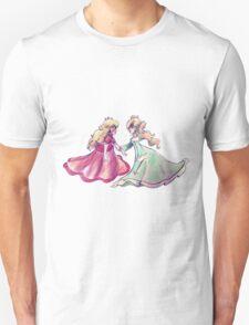 Peach and Rosalina Unisex T-Shirt