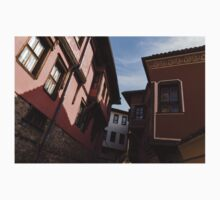 Oriel Windows Galore - Revival Houses in Old Town Plovdiv, Bulgaria Kids Tee