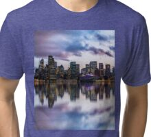 Clouds over Circular Quay Tri-blend T-Shirt