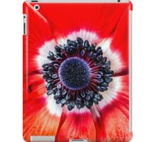 Symmetry on Red iPad Case/Skin