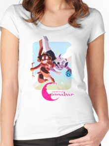 The Myth of Cinnabar - Free Falling Women's Fitted Scoop T-Shirt