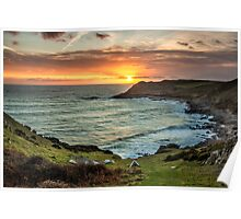 Fall Bay, Gower Poster