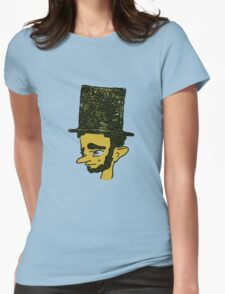 Lincoln pouts Womens Fitted T-Shirt