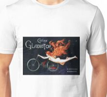 GLADIATOR CYCLES - PARIS 1895 Unisex T-Shirt