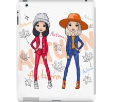 Beautiful fashion hipster girls iPad Case/Skin