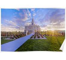 Payson Temple I Poster