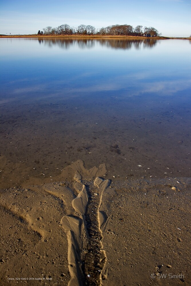 Peconic River Reflections | Orient, New York by © Sophie W. Smith