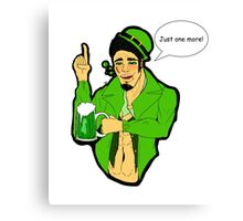 St. Patrick's Day - Spade Canvas Print