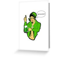 St. Patrick's Day - Spade Greeting Card