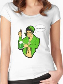 St. Patrick's Day - Spade Women's Fitted Scoop T-Shirt
