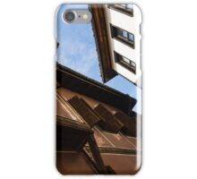 Sun and Shade - Elegant Revival Houses in Old Town Plovdiv, Bulgaria iPhone Case/Skin