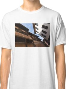 Sun and Shade - Elegant Revival Houses in Old Town Plovdiv, Bulgaria Classic T-Shirt