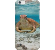 Turtle yoga iPhone Case/Skin