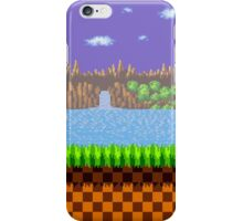 Green Hill Zone iPhone Case/Skin