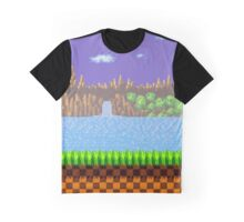 Green Hill Zone Graphic T-Shirt