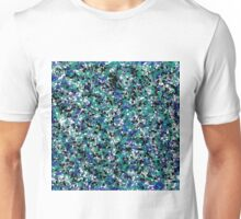 Blue Army Splat Painting Unisex T-Shirt