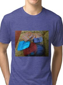 Colourful Hats Tri-blend T-Shirt
