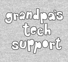 Grandpa's Tech Support One Piece - Long Sleeve