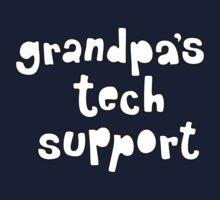 Grandpa's Tech Support Kids Tee