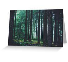 Magic trees Greeting Card