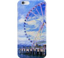 Seattle Great Wheel iPhone Case/Skin