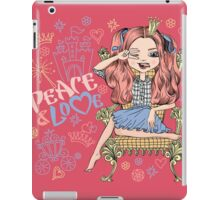 Fashionable girl princess  iPad Case/Skin