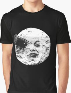 A Trip to the Moon (Le Voyage Dans La Lune) - face only Graphic T-Shirt