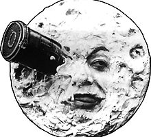 A Trip to the Moon (Le Voyage Dans La Lune) - face only by 45thAveArtCo