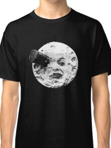 A Trip to the Moon (Le Voyage Dans La Lune) - face only Classic T-Shirt