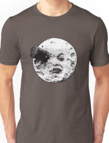A Trip to the Moon (Le Voyage Dans La Lune) - face only Unisex T-Shirt