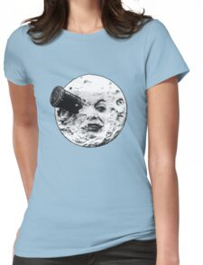 A Trip to the Moon (Le Voyage Dans La Lune) - face only Womens Fitted T-Shirt