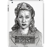 Goldie Offed Her Husband Over His Double-Indemnity Life Insurance iPad Case/Skin