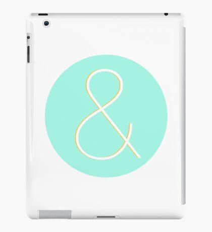 Ampersand in Helvetica Neue iPad Case/Skin