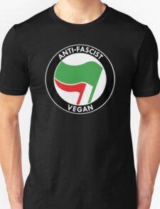 Anti-Fascist Vegan Unisex T-Shirt