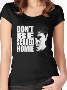 Don't be scared Women's Fitted Scoop T-Shirt