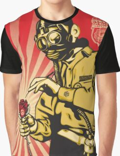 Banksy Toxic Waste Graphic T-Shirt