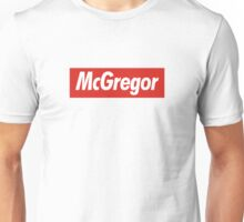 conor mcgregor x Supreme Unisex T-Shirt